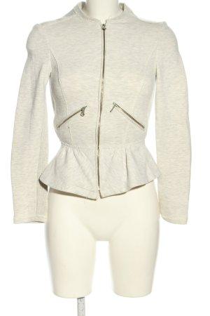 Zara Trafaluc Giacca fitness grigio chiaro puntinato stile casual