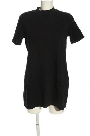 Zara Trafaluc Sweat Dress black casual look