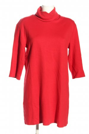 Zara Trafaluc Robe Sweat rouge style décontracté
