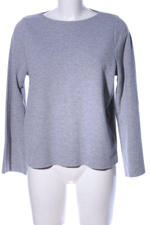 Zara Trafaluc Suéter gris claro moteado look casual
