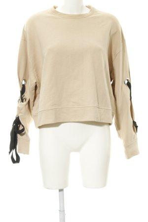 Zara Trafaluc Sweatshirt beige Casual-Look