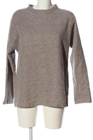 Zara Trafaluc Sweatshirt braun meliert Casual-Look