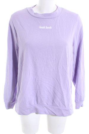 Zara Trafaluc Sweatshirt Schriftzug gedruckt Casual-Look