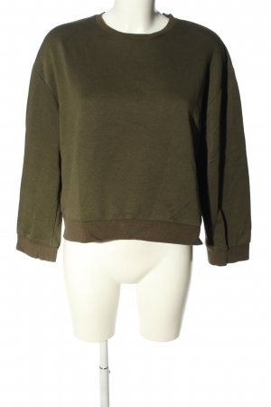Zara Trafaluc Sweatshirt khaki Casual-Look
