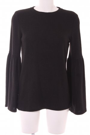 Zara Trafaluc Sweatshirt schwarz Casual-Look
