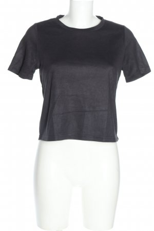 Zara Trafaluc T-Shirt schwarz Casual-Look