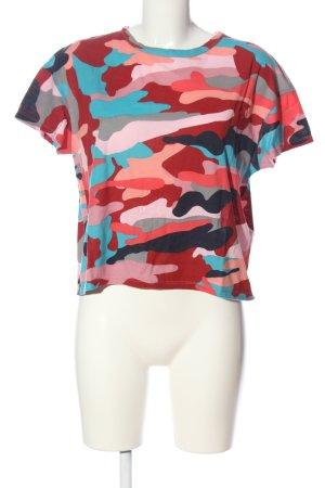 Zara Trafaluc T-Shirt Allover-Druck Casual-Look