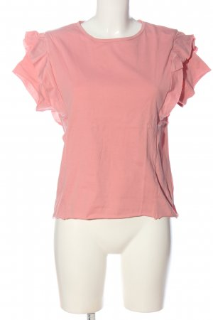 Zara Trafaluc Camiseta rosa look casual
