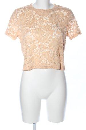 Zara Trafaluc T-Shirt nude Casual-Look