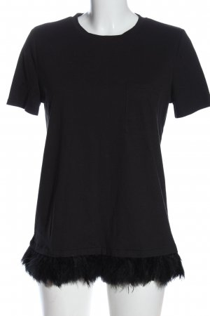 Zara Trafaluc T-Shirt schwarz Elegant