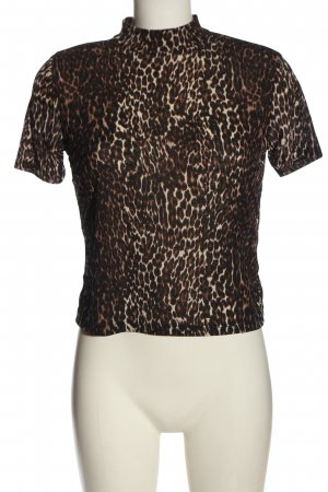 Zara Trafaluc T-Shirt Leomuster Casual-Look