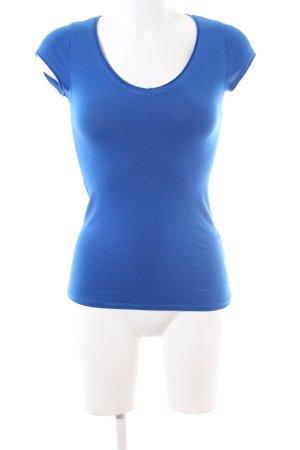 Zara Trafaluc T-Shirt blau Casual-Look