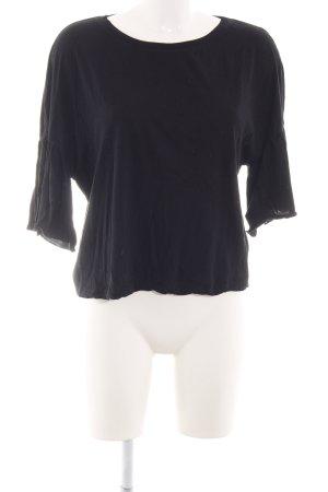 Zara Trafaluc T-Shirt schwarz schlichter Stil
