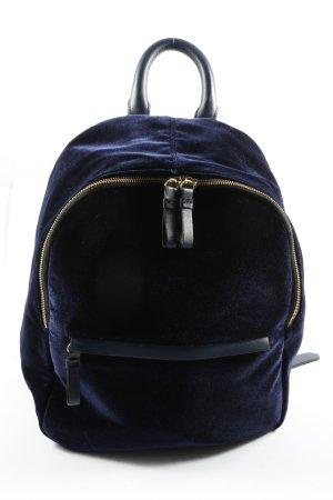 Zara Trafaluc Tagesrucksack blau Casual-Look