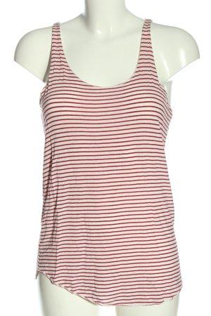 Zara Trafaluc Tanktop rood-wit volledige print casual uitstraling