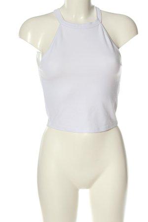 Zara Trafaluc Tanktop wit casual uitstraling