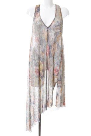 Zara Trafaluc Trägerkleid Allover-Druck Elegant
