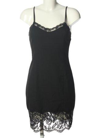 Zara Trafaluc Vestido tipo overol negro elegante