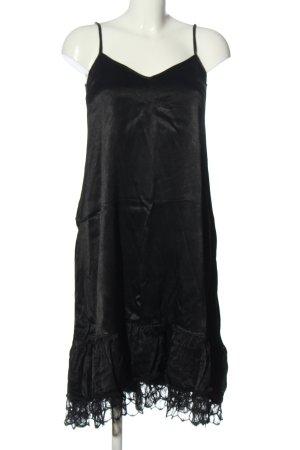 Zara Trafaluc Trägerkleid schwarz Elegant