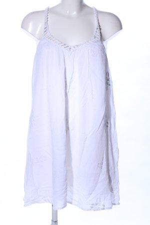 Zara Trafaluc Trägerkleid weiß Casual-Look