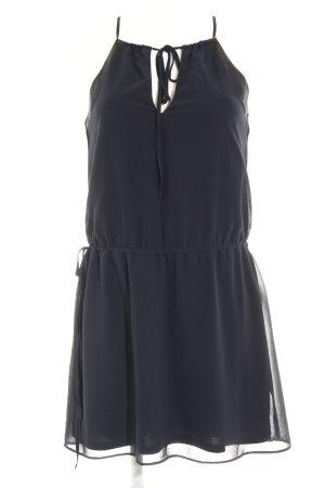 Zara Trafaluc Trägerkleid dunkelblau Casual-Look