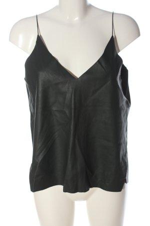 Zara Trafaluc Top de tirantes negro look casual