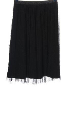 Zara Trafaluc Falda de tul negro look casual