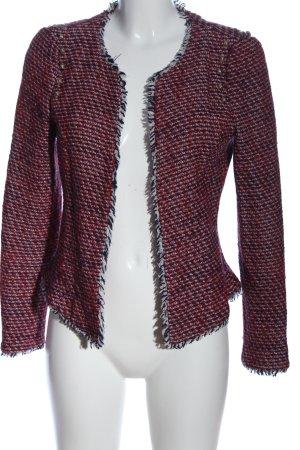 Zara Trafaluc Blazer en tweed Motif de tissage style décontracté