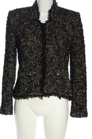 Zara Trafaluc Blazer en tweed moucheté style décontracté