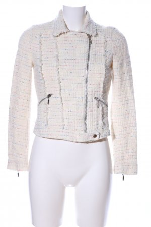 Zara Trafaluc Tweed Blazer allover print business style
