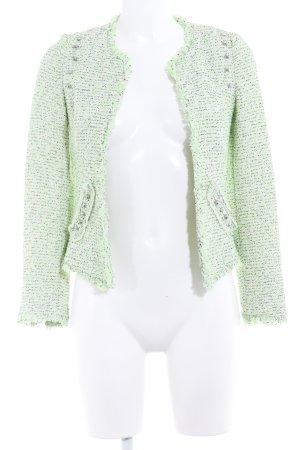Zara Trafaluc Tweed blazer gestippeld extravagante stijl