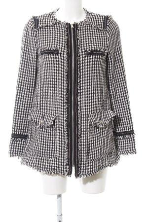 Zara Trafaluc Tweedblazer schwarz-weiß