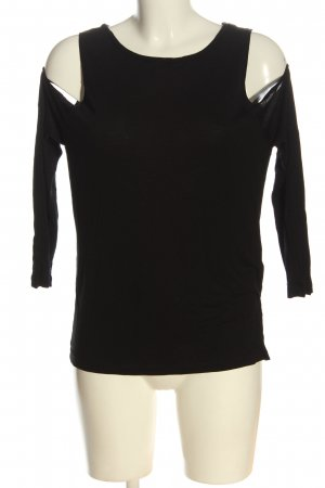 Zara Trafaluc U-Boot-Shirt schwarz Casual-Look