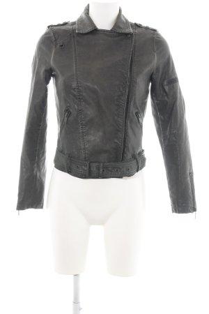 Zara Trafaluc Übergangsjacke schwarz Casual-Look