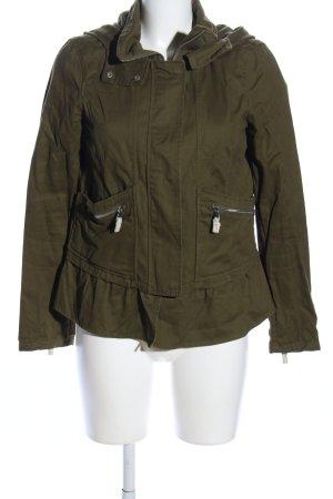 Zara Trafaluc Übergangsjacke khaki Casual-Look