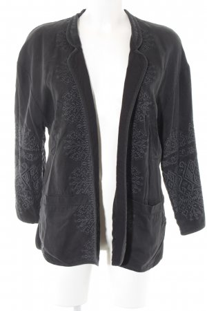 Zara Trafaluc Übergangsjacke anthrazit schlichter Stil
