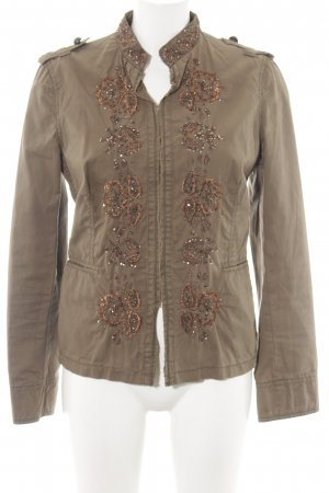 Zara Trafaluc Übergangsjacke bronzefarben Casual-Look