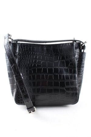 Zara Trafaluc Borsa a spalla nero motivo animale stile casual