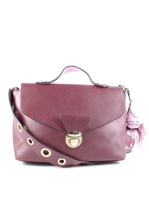 Zara Trafaluc Umhängetasche pink Business-Look