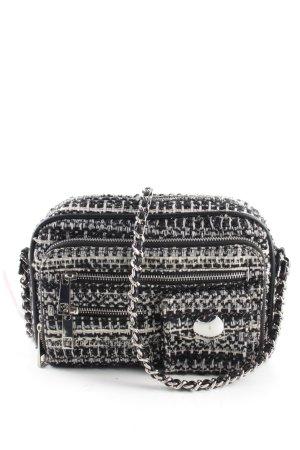 Zara Trafaluc Umhängetasche schwarz-weiß Casual-Look