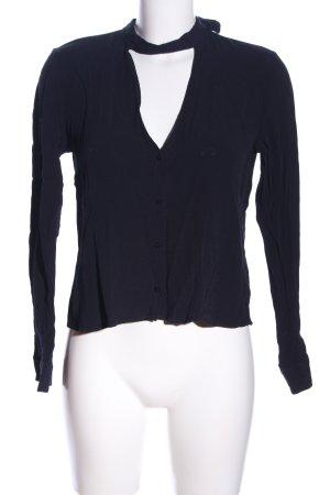 Zara Trafaluc T-shirt col en V noir style décontracté