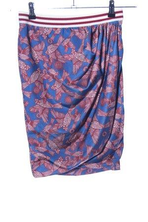 Zara Trafaluc Wraparound Skirt allover print casual look
