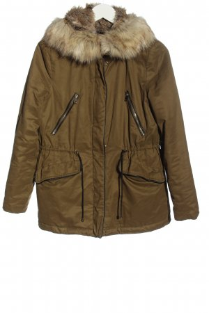 Zara Trafaluc Kurtka zimowa khaki W stylu casual