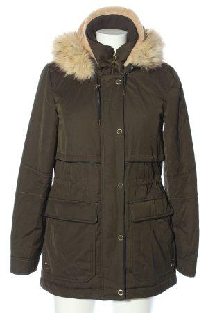 Zara Trafaluc Winterjacke khaki Casual-Look