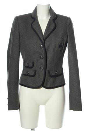 Zara Trafaluc Woll-Blazer hellgrau meliert Business-Look