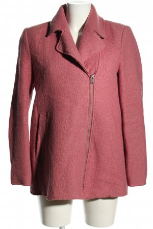 Zara Trafaluc Wollen jas roze casual uitstraling