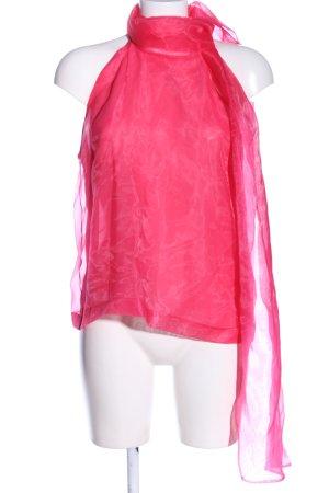 Zara Transparenz-Bluse pink Elegant