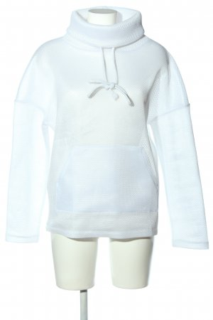 Zara Transparante blouse wit casual uitstraling