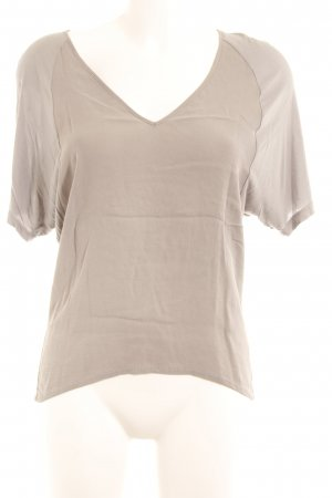 Zara Transparenz-Bluse grau Casual-Look
