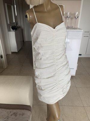 Zara Traum Kleid .. Minikleid .. Sommer .. vanillefarbend Gr. XL .. Neu .. blogger